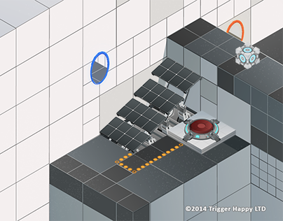 Valve - Portal assets in Toonhero