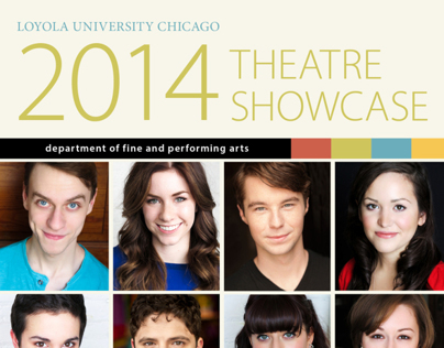Loyola Theatre Showcase postcard