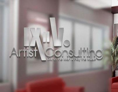 IX II V Artist Consulting | Brand Identity Design