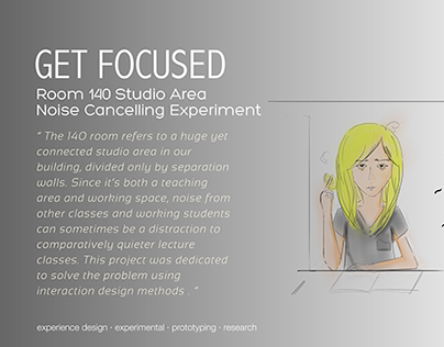 Get Focused -  an interactive product design