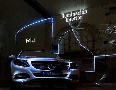 Mercedes-Benz C and GLA presentation, Barcelona
