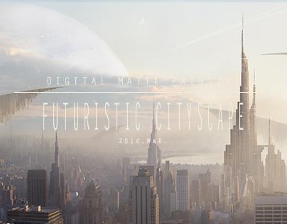 DMP: Futuristic Cityscape