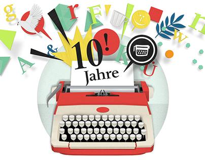 10 years Verlagshaus Frank
