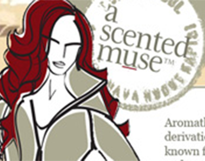 A Scented Muse Splash Page
