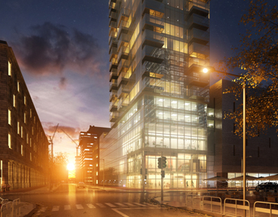 [3DSmax training] - The Building in Amsterdam