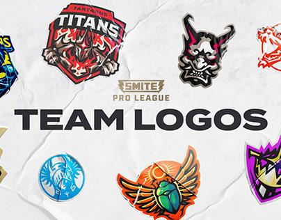 Smite Pro League Team Logos
