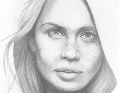 Freckles drawing