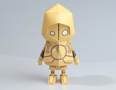 [ LOL ][ Blitzcrank ] Paper toy of Boogiehood