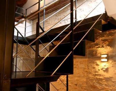 Rénovation duplex - Création escalier