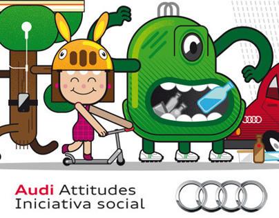 La Tribu -  Audi Attitudes Urban Experience