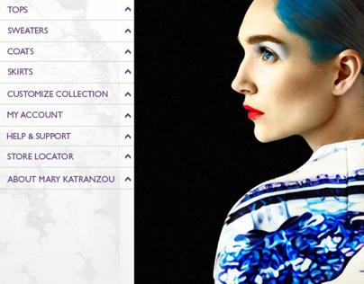 Customization app project - Mary Katrantzou
