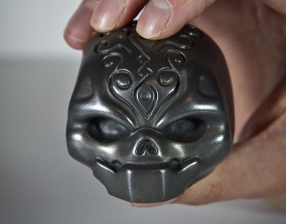 Samsara resin figure