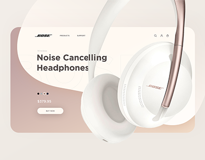 Bose — website redesign