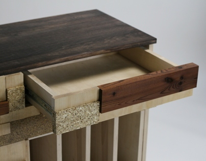 Renewable Materials Side Table
