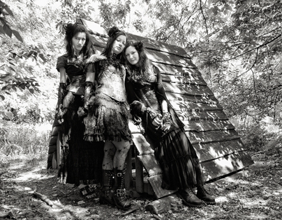 forest hexes in corset - 2012.MAY.27.