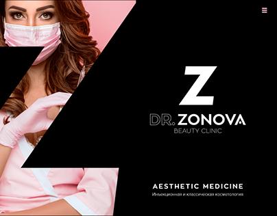 Wordpress theme development for beauty clinic website