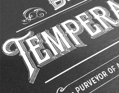 Browne's Traveling Temperance Bar