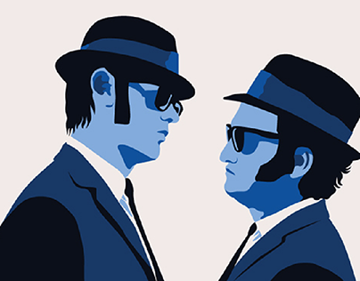 "Alternative movie poster for ""The Blues Brothers"""