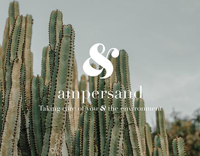 AMPERSAND - skincare & beauty branding