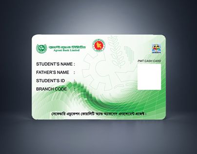 Agrani Bank Limited Student Card Design