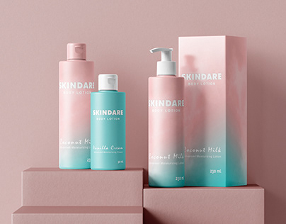 SKINDARE Packaging Design