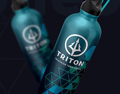 Фирменный стиль для спортивного клуба Triton