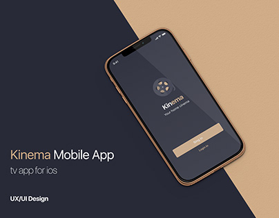 Kinema - Online Movies App Concept for IOS