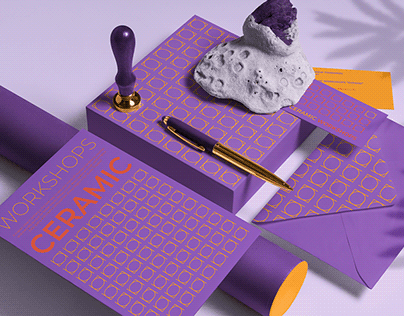 Identity for ceramics studio.