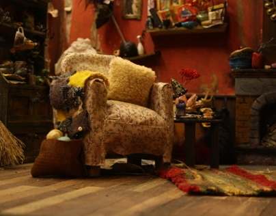The Making of The Twits' Living Room