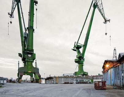 Industrial Landscape: Shipyard Gdansk