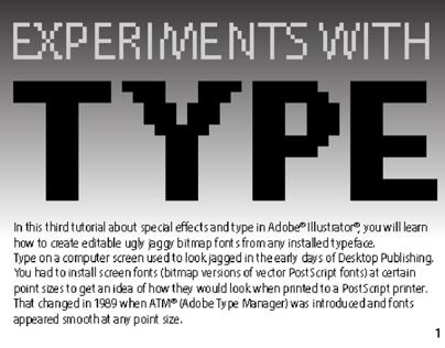 Nostalgic Bitmap Type