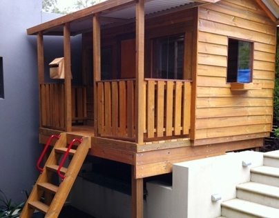 Cubby House - Slopes, Retaining Walls + Tight Squeezes