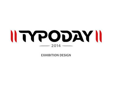 Typoday 2014, Exhibition Design