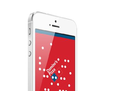 Domino's pizza ordering app redesign
