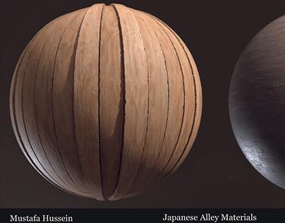 Japanese Alleyway Materials