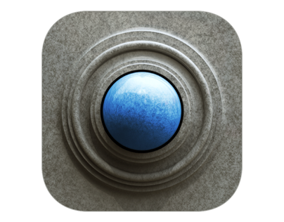 3D Granite iOS Icon