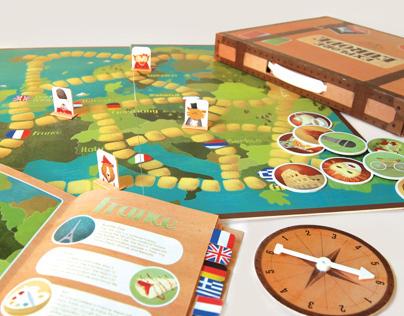Explore Europe Game