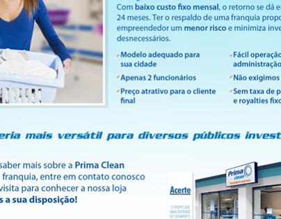 Prima Clean - Franquia (email mkt)