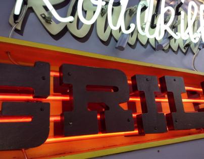 Roadkill Grill Neon Sign