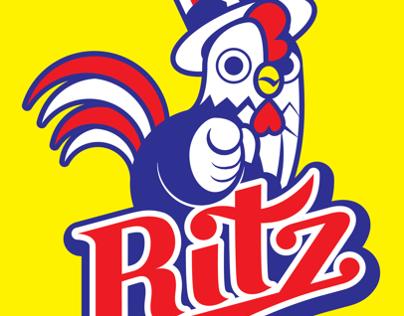 Logo - Ritz, an American fried chicken stall