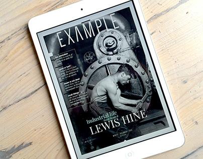 Example: tablet-magazine