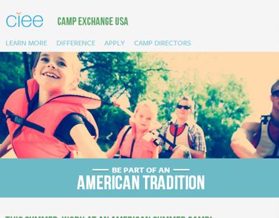CIEE Camp Exchange USA - Original Design
