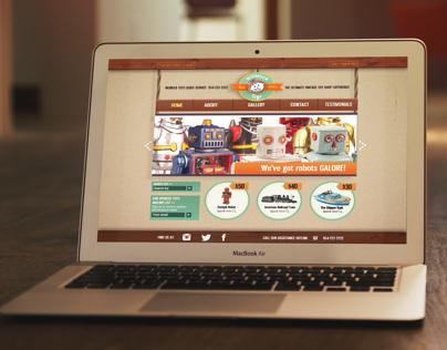 Wonder Toys Website