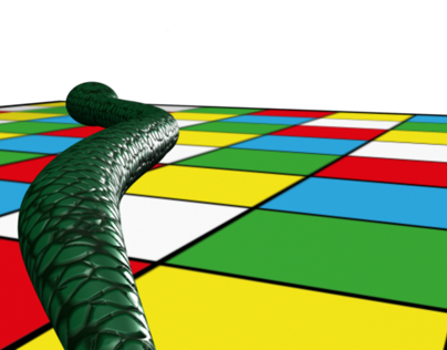 3D Animation - Snakes & Ladders