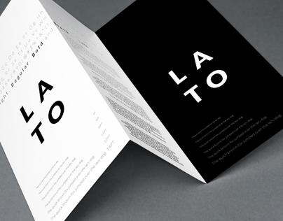 Type Brochure