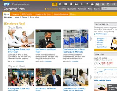 SAP - Sr. User Experience Designer