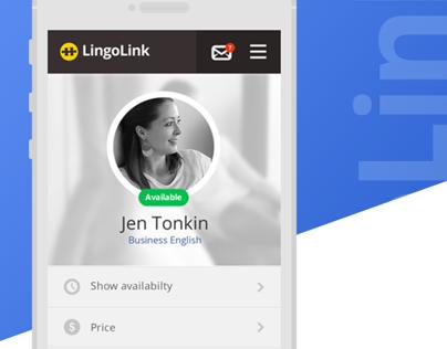 LingoLink Website App