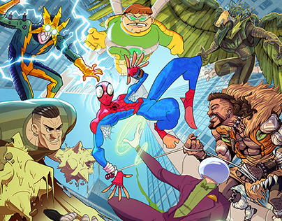 SPIDER-COLLAB: The Sinister Six