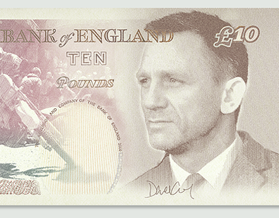 James Bond Banknotes