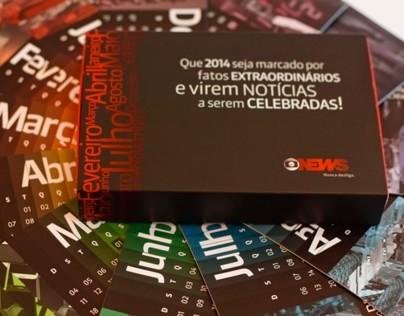 Globo News - Calendário 2014 / Calendary 2014